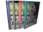 A4 Display Book With Insert Covers, 20 Pages, Green