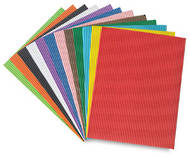 Corrugated Craft Paper, 10 Sheets
