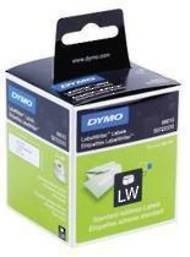 Dymo LabelWriter Labels, SD14681, CD And DVD, 57mm Diameter,  160 Labels, 1 Roll