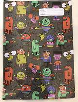 Spencil Slip on Book Covers, A4, Alien Attack