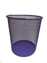 Funky Mesh Waste Paper Bins 28cm, Purple