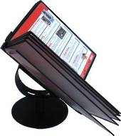 Menu Book Stand, Desktop With 200mm Diameter Base, 500x335x320mm