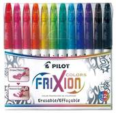 Pilot Frixion Erasable Marker Pens, Pack of 12