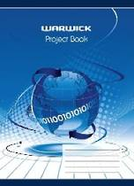 Warwick Project Book, 100gsm, 20 Sheets
