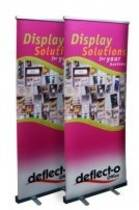Manhattan Roll Up Banner Stand, Width 1000mm, Fixed Height 2000mm, 1000x110x90mm