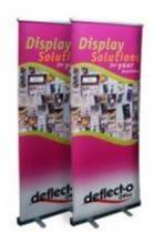 Manhattan Roll Up Banner Stand, Width 1200mm, Fixed Height 2000mm, 1200x110x90mm