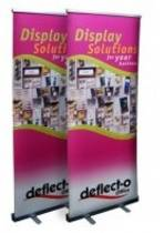 Manhattan Roll Up Banner Stand, Width 850mm, Fixed Height 2000mm, 860x110x90mm
