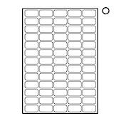 Printable Labels, 65 Labels Per Sheet, 38.1x21.2mm, 20 Sheets