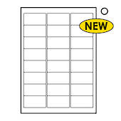 Tower Labels, W109 , 24 Labels Per Sheet, 64 x 33.9mm, 100 Sheets