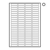 Tower Labels, W225 , 84 Labels Per Sheet, 46 x 11mm, 100 Sheets