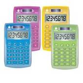 Datexx Handheld Eco Colour Calculators,assorted