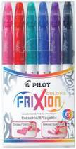 Pilot Frixion Erasable Marker Pens, Pack of 6