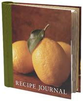Recipe Journal, lemon