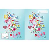 Spencil Slip on Book Covers, 1B5 , Love, Joy and Peace