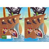 Spencil Slip on Book Covers, 1B5 , Pirates