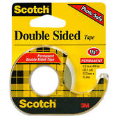 Scotch Double Sided Tape, 12.7mmx11.4m