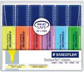 Staedtler Textsurfer Classic, Office Highlighters, Pack of 6