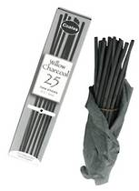 Coates Willow Charcoal, Thin, 2-3mm, Box25