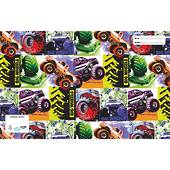 Spencil Slip on Book Covers, 1B5 , Big Wheelz