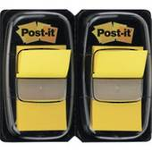 680 Post It Flags, Twin Pack, Yellow