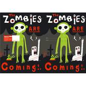 Spencil Slip on Book Covers, 1B5 , Zombies